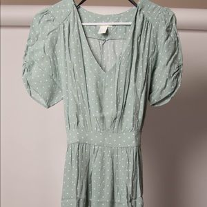 H&M 30s style Maxi Dress Size 6